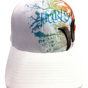 Hurley White Hat Size XS